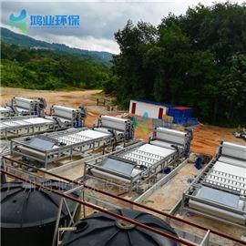 脱水设备机制沙污水分离 砂石厂泥水压滤设备