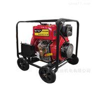 2寸/3寸柴油高压离心水泵可带移动电启动