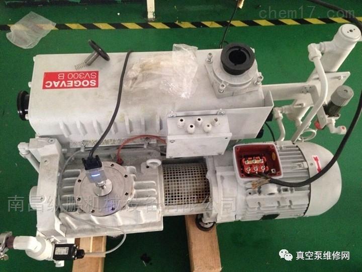 萊寶SV300B真空泵維修