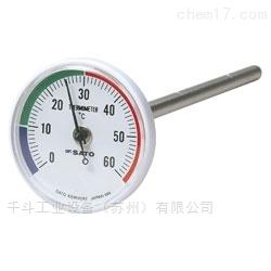双金属地热仪1408-00防滴结构日本温度计
