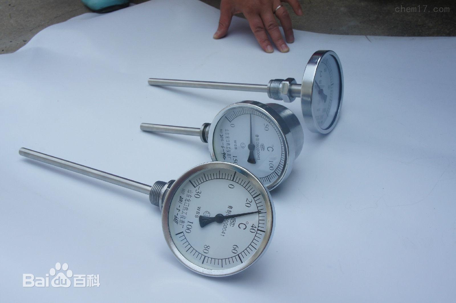 双金属温度计结构