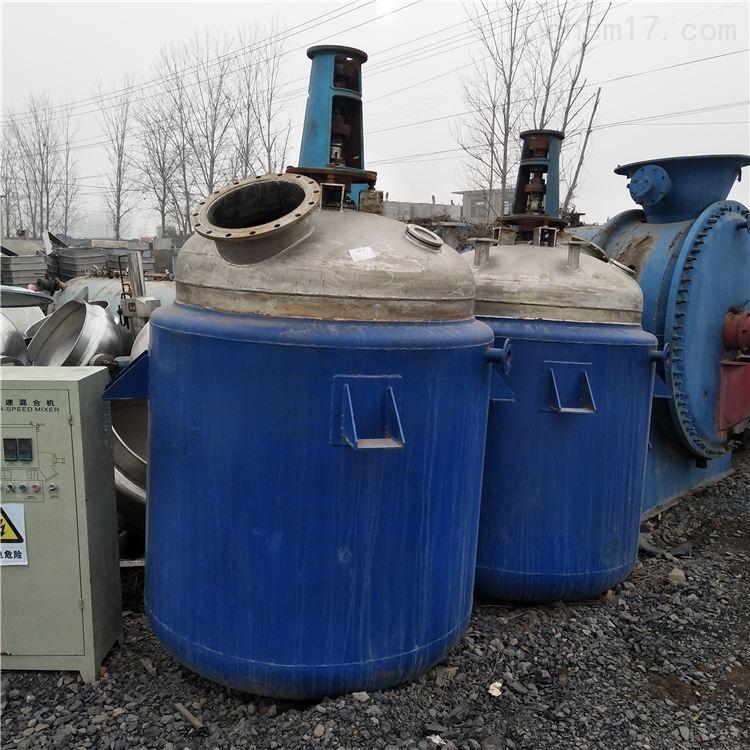 出售二手3吨不锈钢反应釜