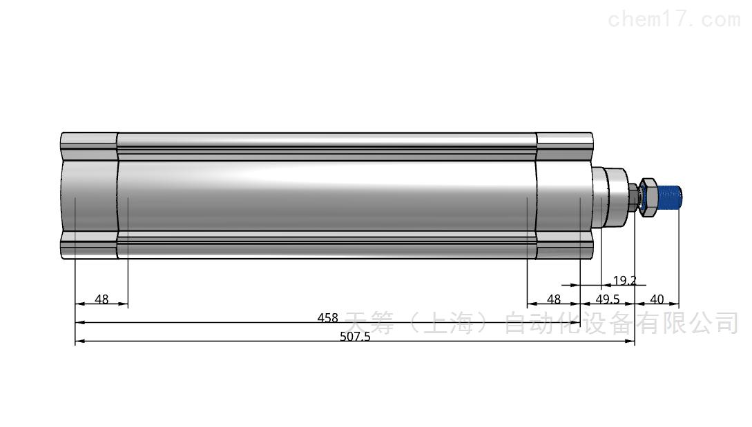 FESTO标准气缸DSBC-100-320-PPVA-N3