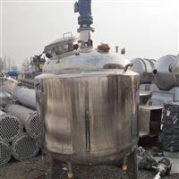 处理二手不锈钢电加热反应釜现货供应
