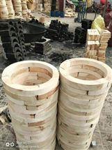 管道垫木 风管垫木使用红松材料加工而成