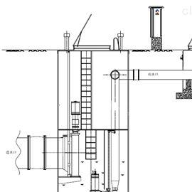 PPS一体化泵站玻璃钢预制泵站