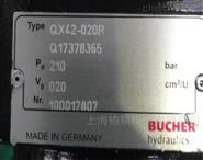 原装进口瑞士BUCHER油泵