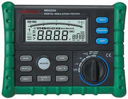 大量批发MS5202数字绝缘电阻测试仪