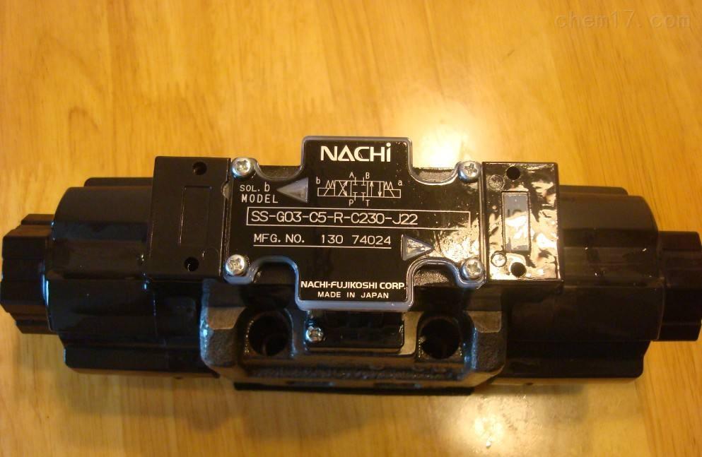 日本不二越NACHI湿式电磁换向阀