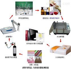 皮鞋、皮包廠六價鉻實驗檢測方法--德駿儀器