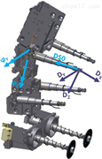 IR-TRACC假人位移传感器
