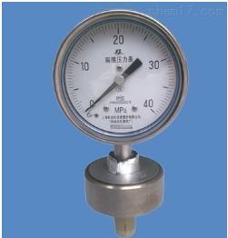 YP F-150B膜片压力表