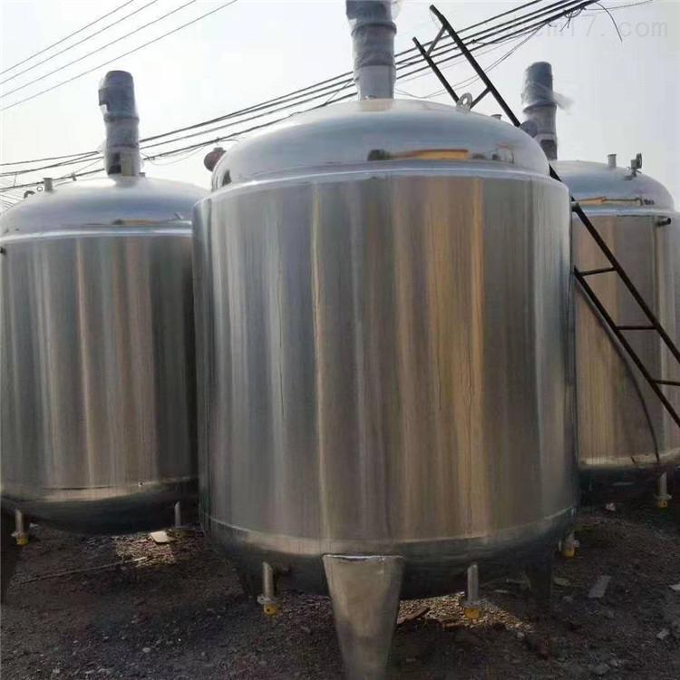 大量二手不锈钢搅拌罐基地