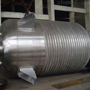 加工定制全新304不锈钢外盘管反应釜