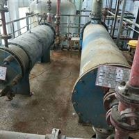 回收二手冷凝器不锈钢、石墨、钛等材质