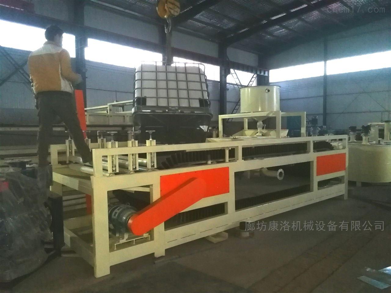 硅质渗透保温板生产设备和聚合聚苯板设备