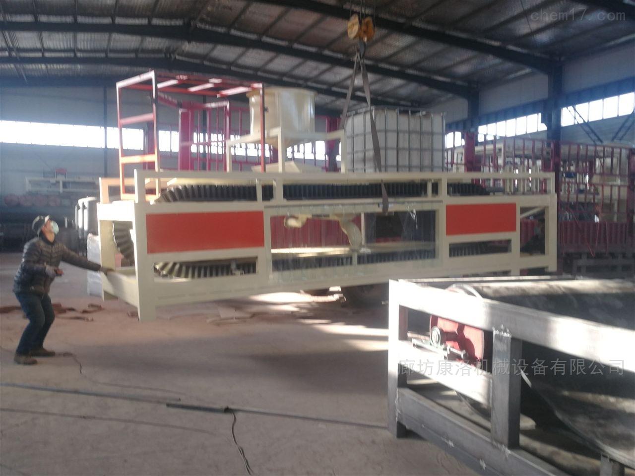 硅质板设备生产线-无机渗透板正确操作步骤