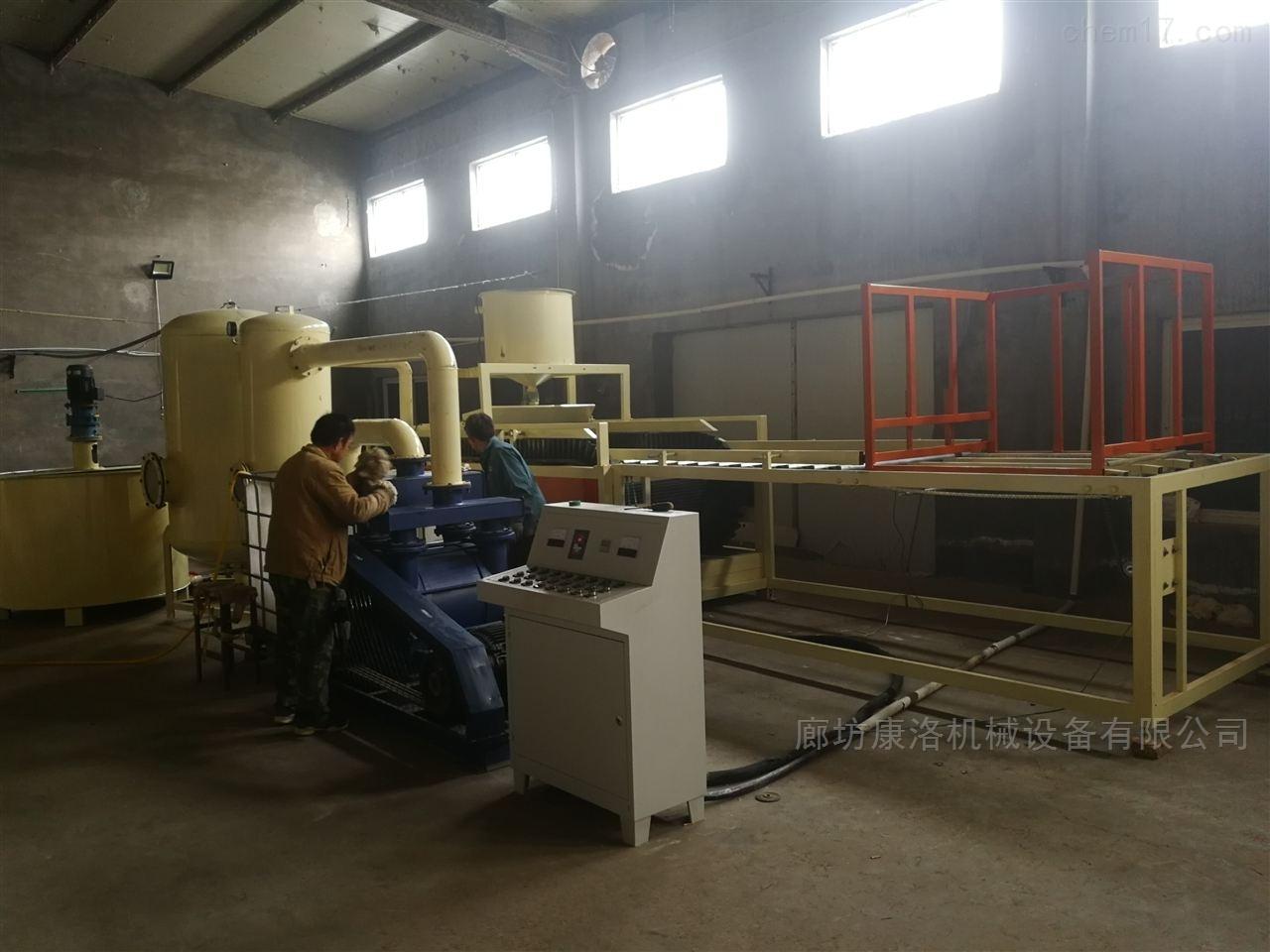 震动硅质板设备-硅质聚合物聚苯保温板直销