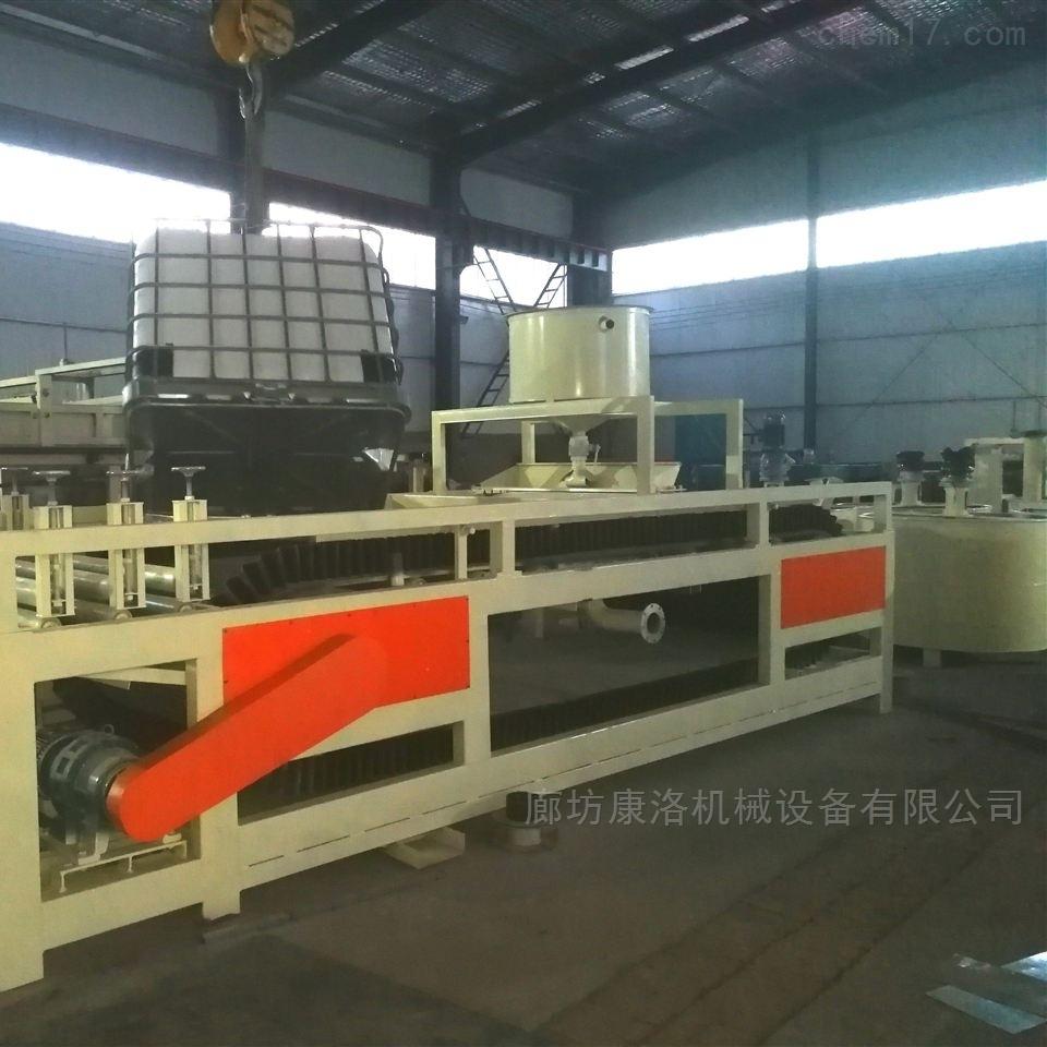 水泥基硅质板设备生产线一体板