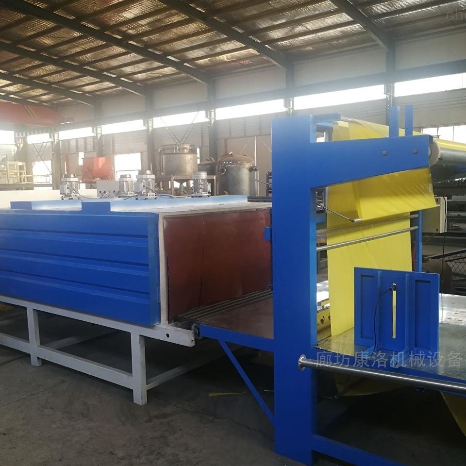 康洛牌热收缩包装机与保温板包装设备区别