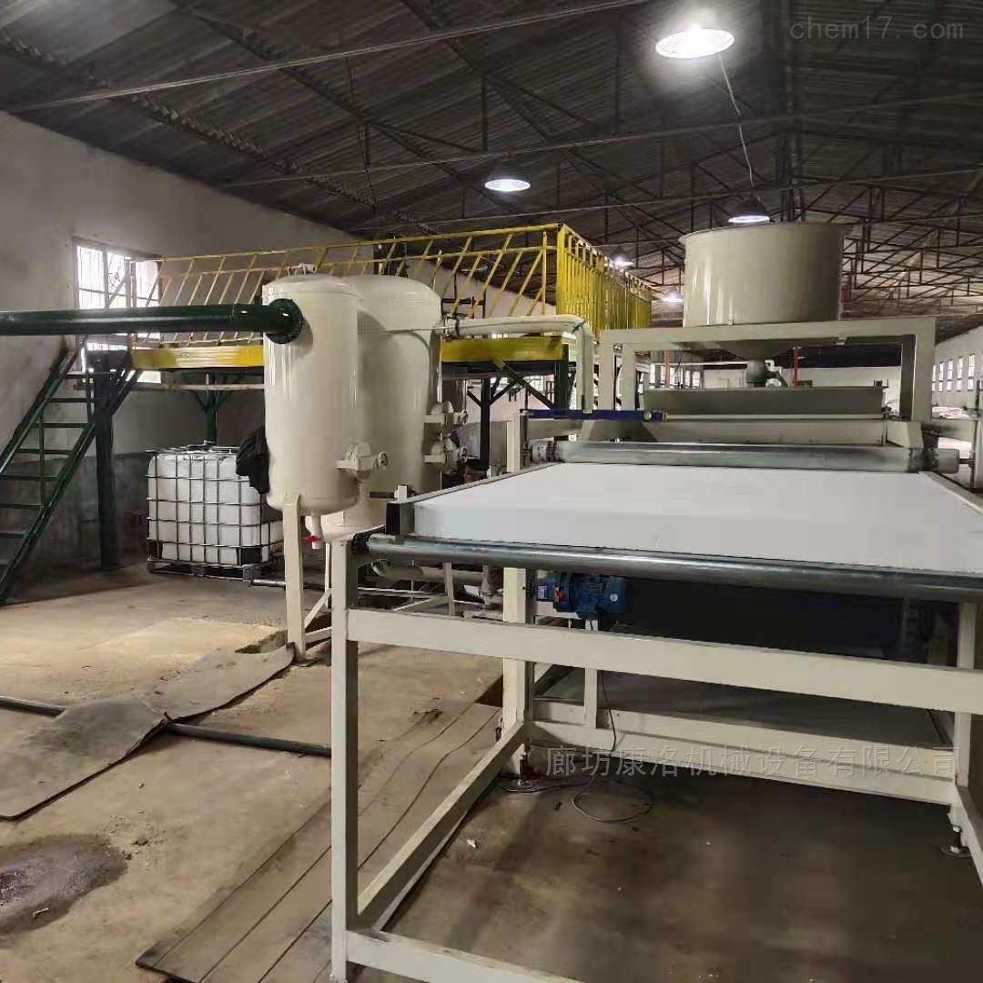 硅质聚苯板设备生产量很大