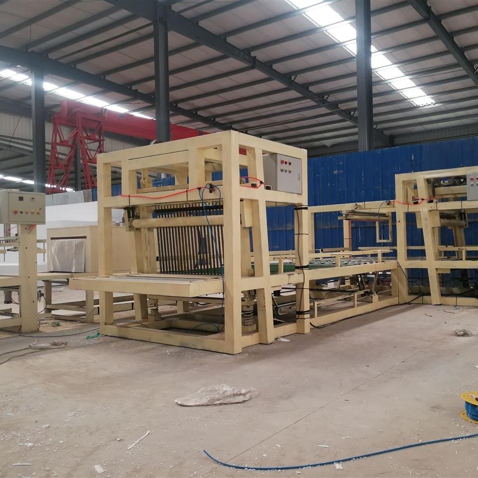 渗透匀质板保温设备产品生产工艺