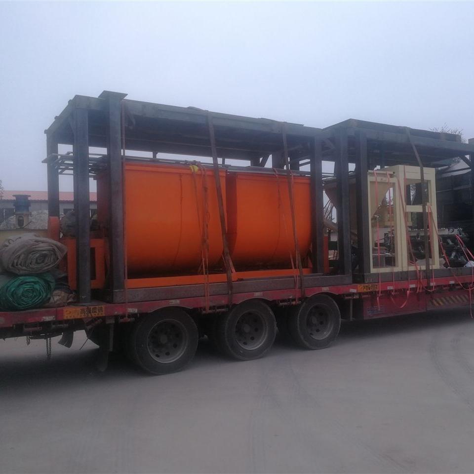 轻匀质聚苯板生产线建筑匀质板设备