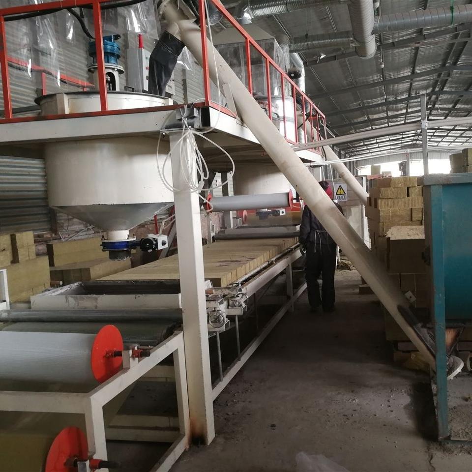 防火岩棉设备砂浆水泥板生产岩棉板的设备