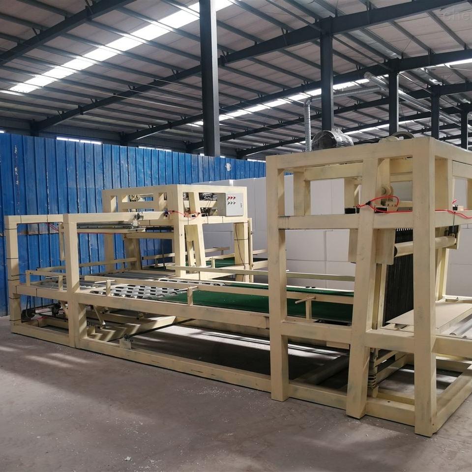 全自动匀质板匀质水泥保温板设备生产什么的