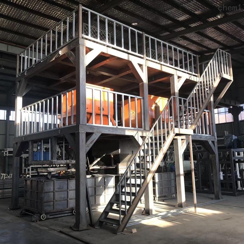 厂家防火保温板模箱式匀质板机械设备