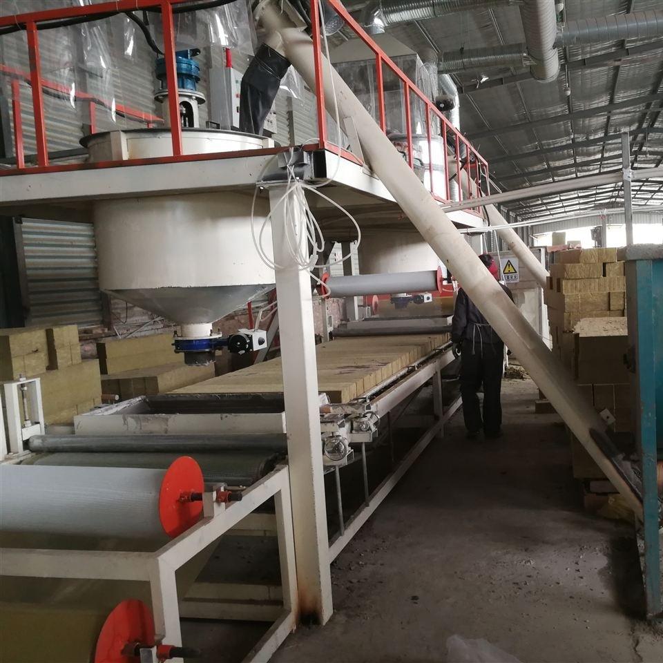 A级岩棉板防火保温板设备产品应用