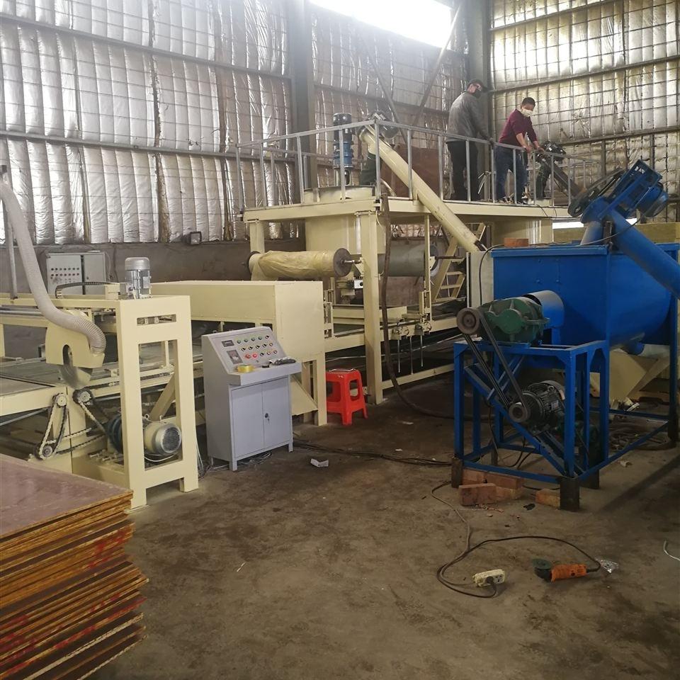 保温板复合砂浆岩棉板设备施工设备