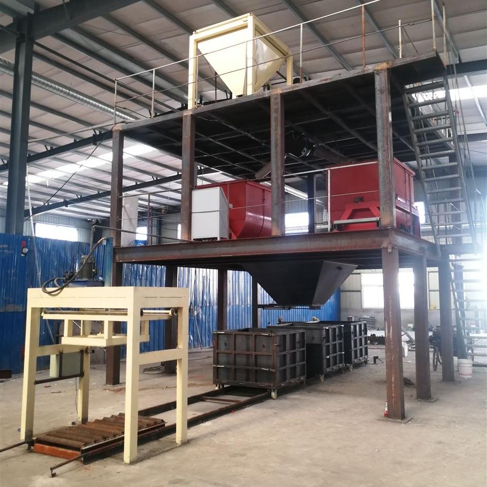 水泥模箱式新型匀质板深生产设备厂家