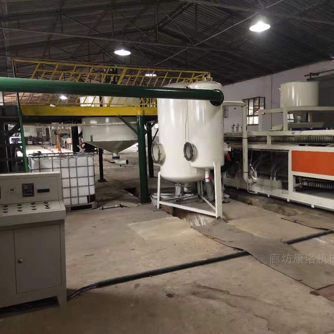 热固复合聚苯板硅质渗透保温板设备生产程序
