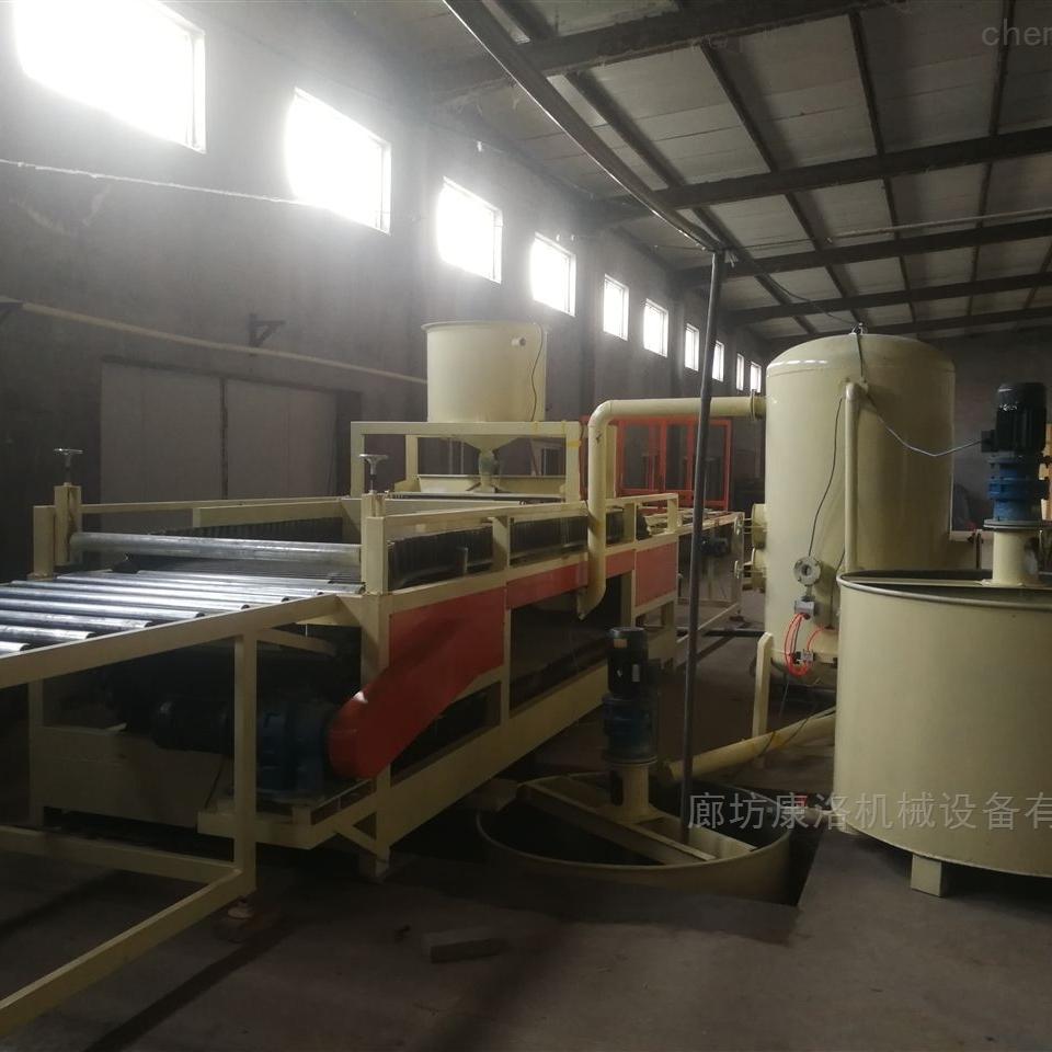 渗透硅质板A级生产设备开发使用步骤