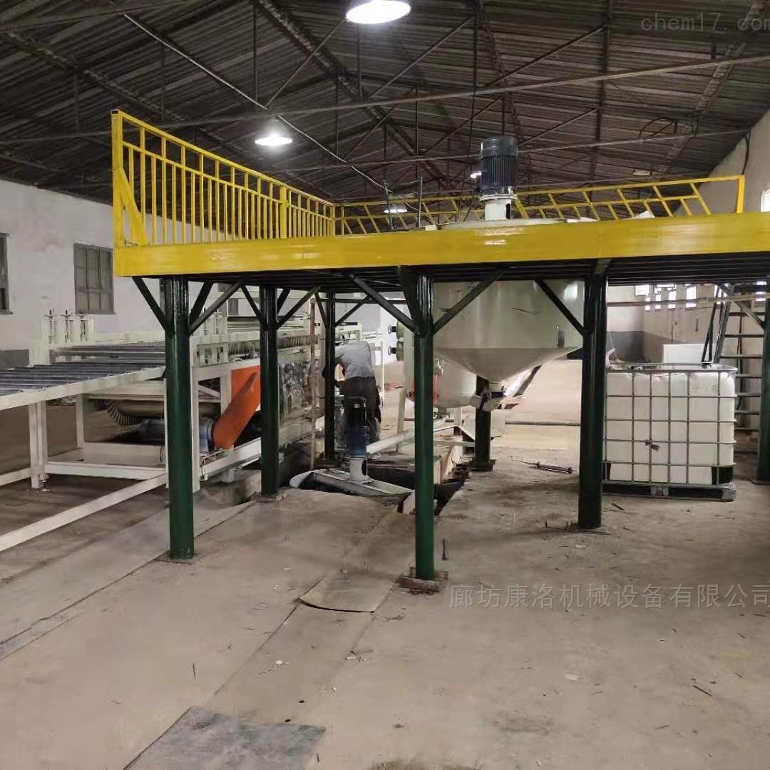 改性渗透硅岩建筑板设备销售成型设备