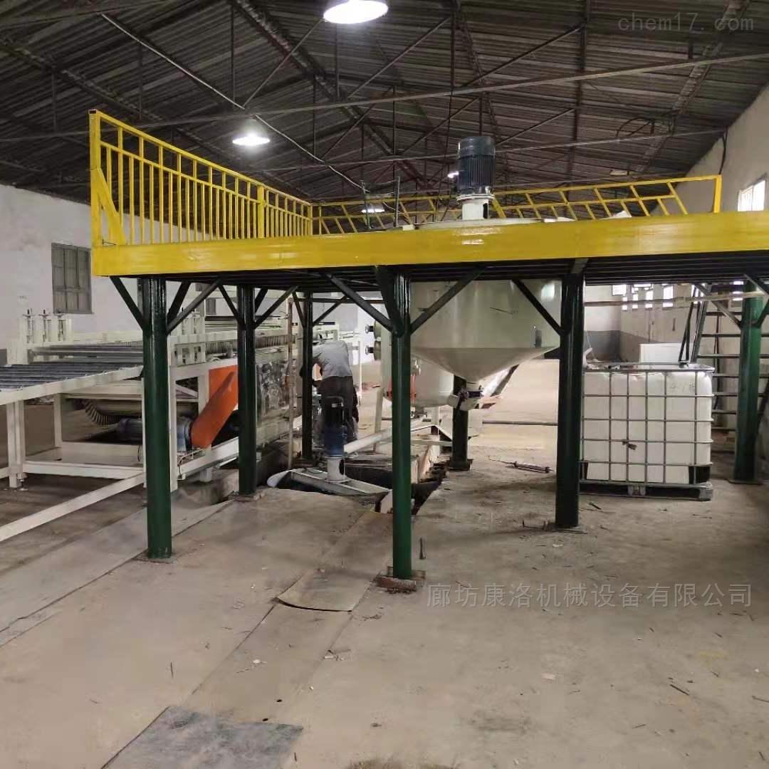 硅质水泥建筑保温板设备生产顺序