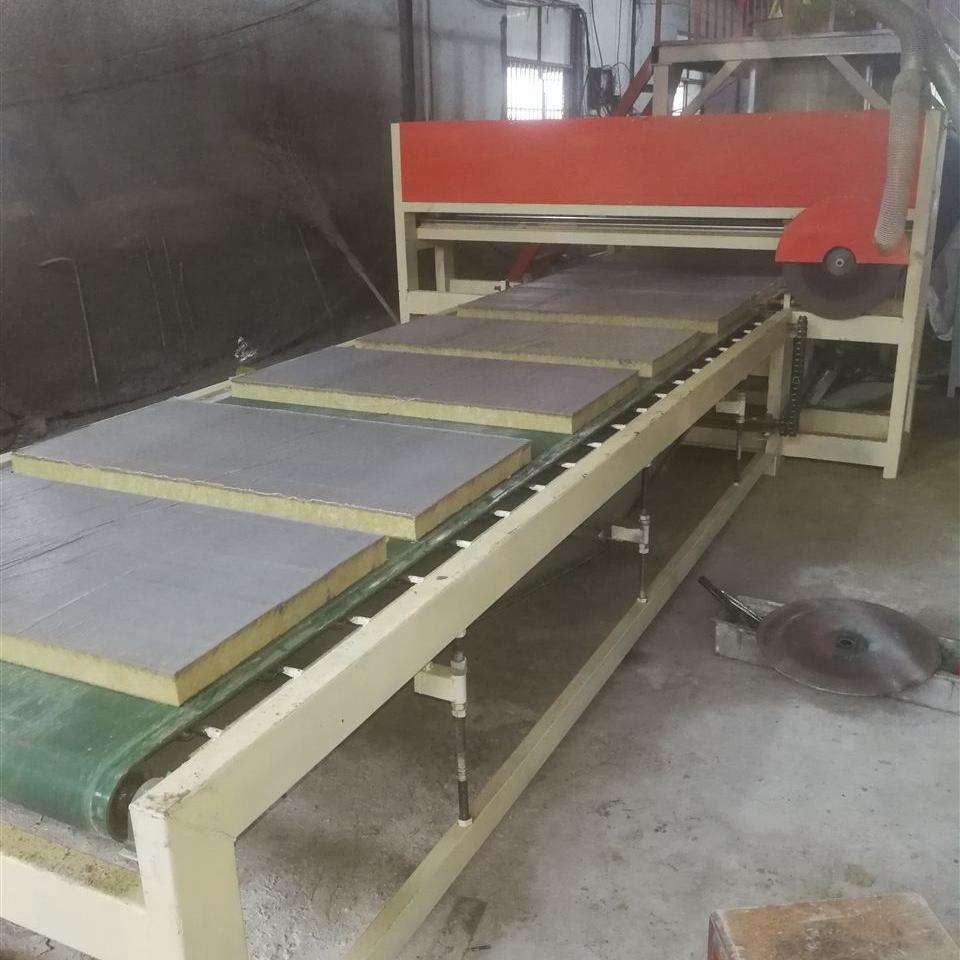 砂浆纸岩棉复合板设备操作步骤顺序
