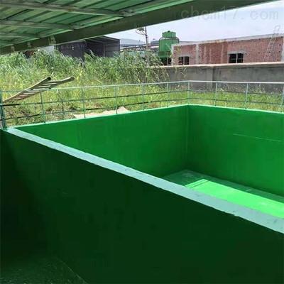 污水池防腐耐酸碱树脂玻璃鳞片涂料施工