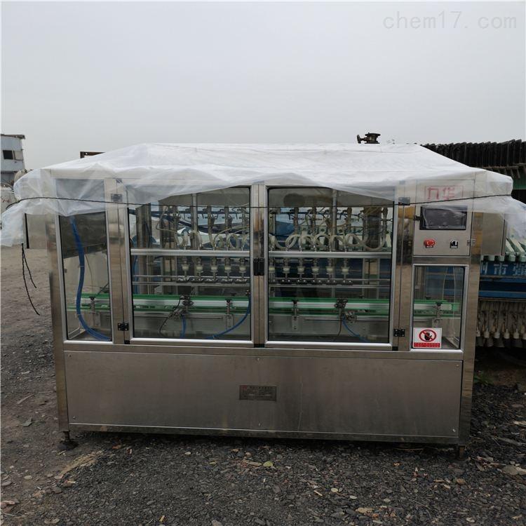 二手灌装机消毒液直线灌装设备