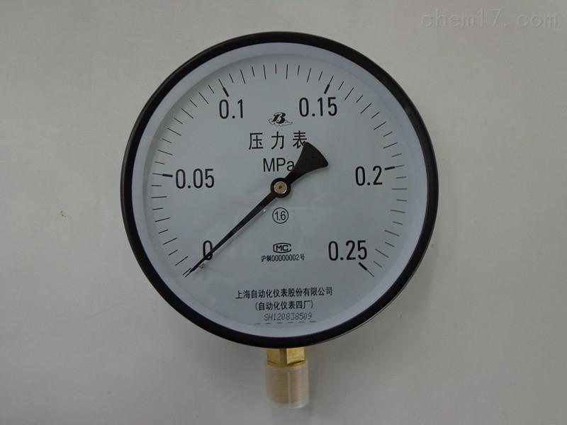 YE- 103 B膜盒压力表