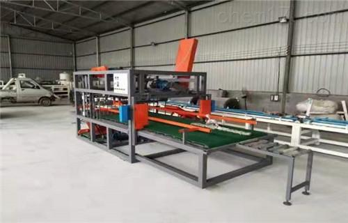 模箱压制匀质板切割机及切割设备