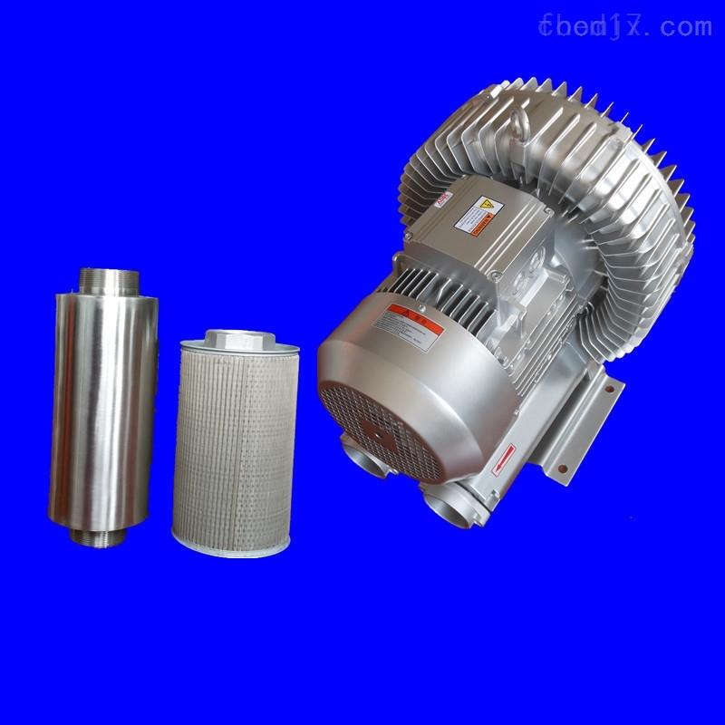 涡漩高压风机 工业吸尘真空泵