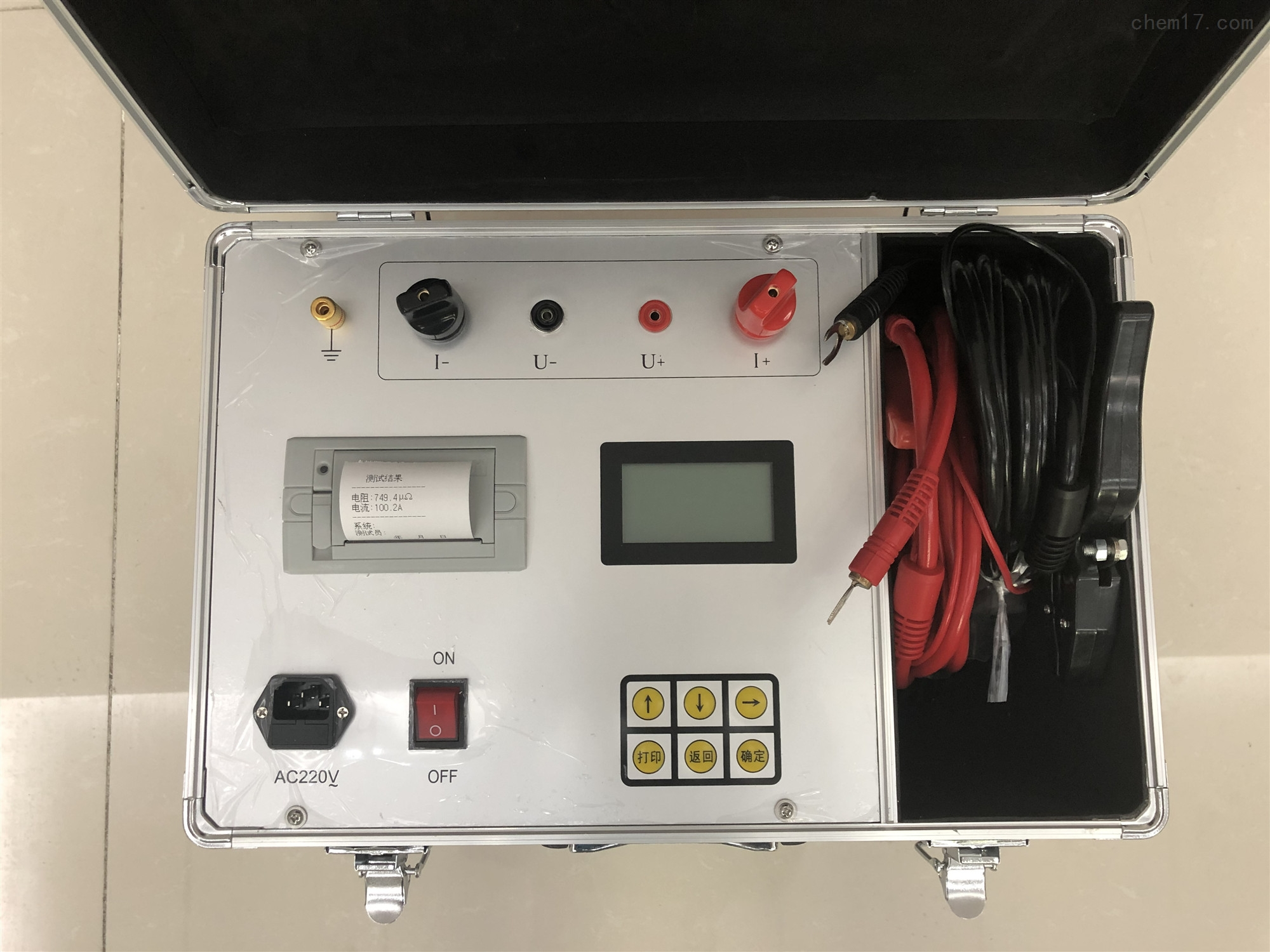 开关回路接触电阻测试仪