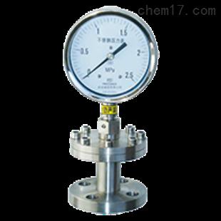 Y-100BFZ/Z/ML隔膜压力表