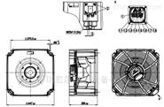 ABB变频器风扇K3G280-RR03-H4