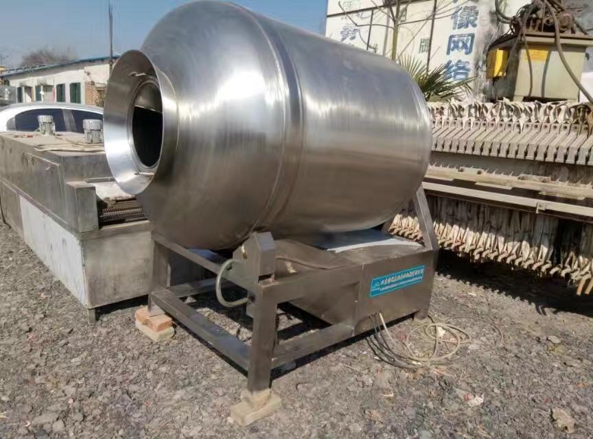 回收二手400L真空滚揉机肉制品加工设备用