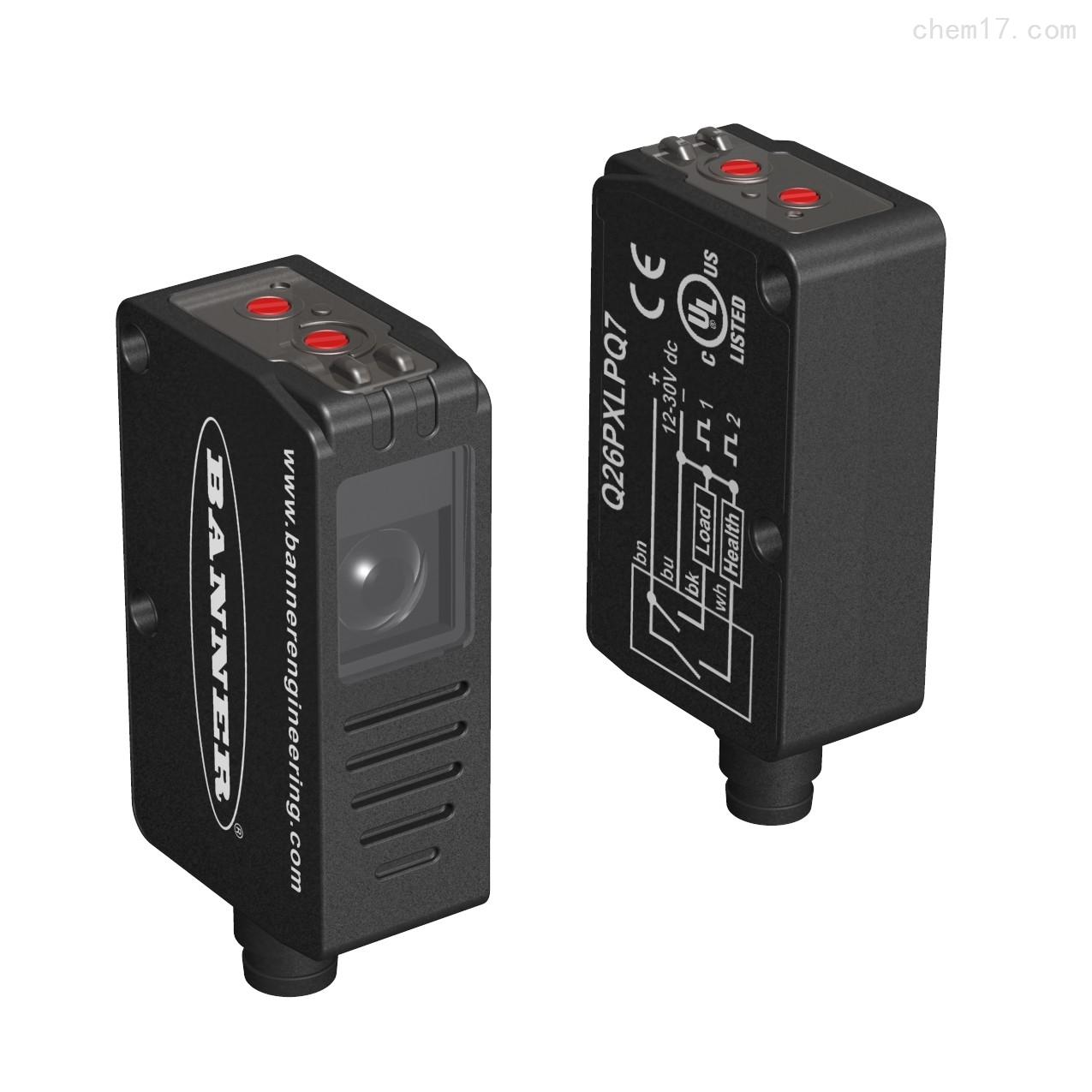 美国邦纳BANNER透明物体检测传感器