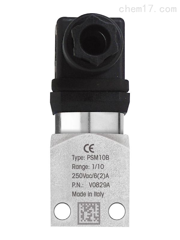 意大利ELETTROCE可调式压力控制器面板安装