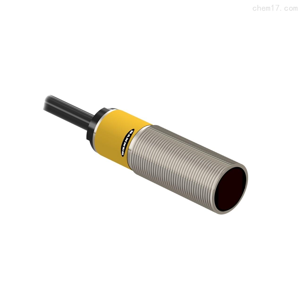 美国邦纳BANNER直径18毫米金属圆柱形传感器